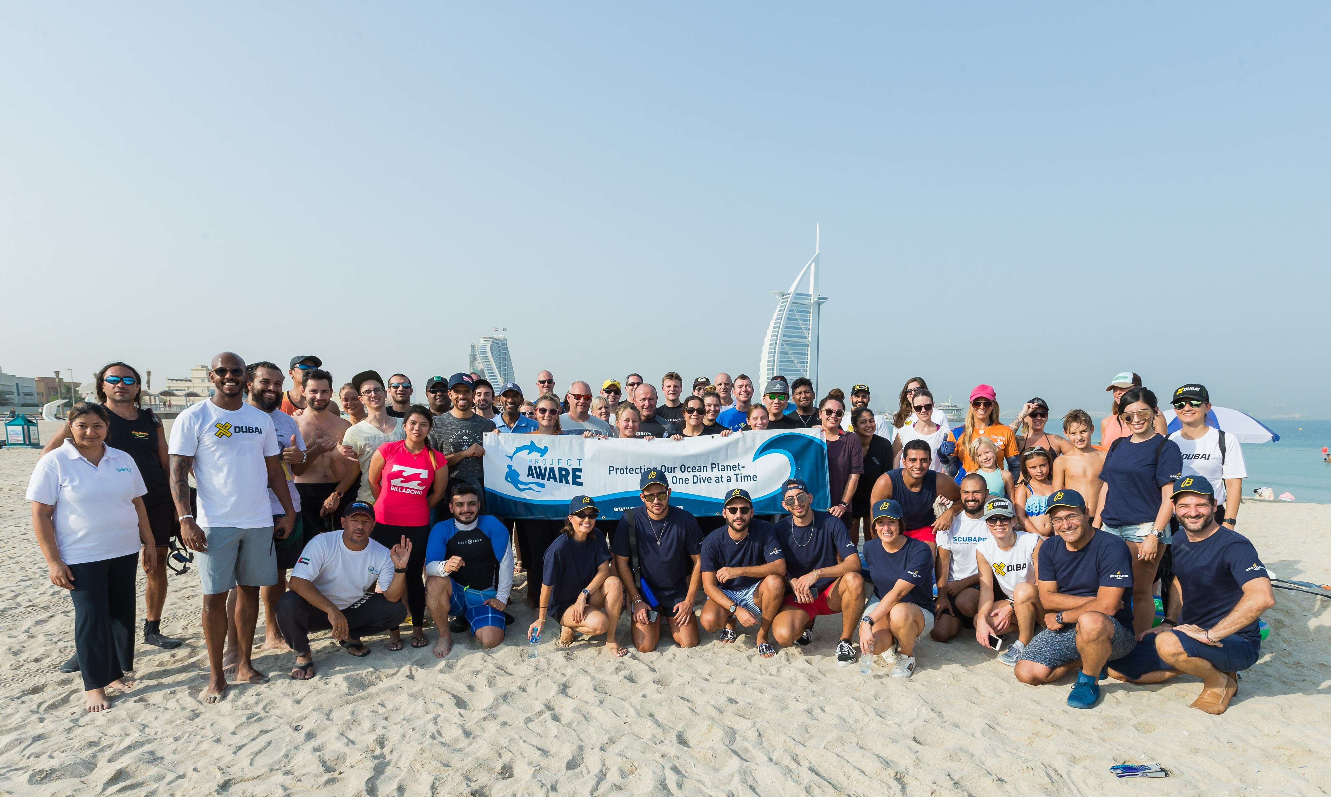 8907e079aef World Cleanup Day with Breitling and Azraq - Amanda Rushforth